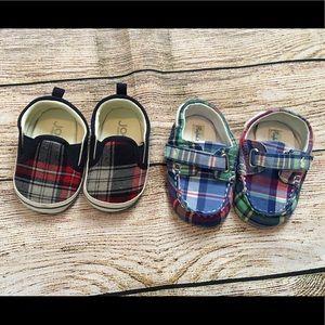Ralph Lauren and Joe fresh baby shoes size 3